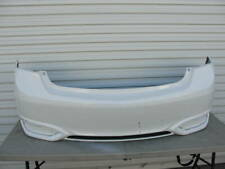 719273. Acura ILX 2016-2018 16 17  White Rear Bumper Cover OEM  04715-TX6-A50ZZ