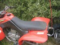 Honda TRX 400 EX Black Seat Cover #hcs404c397