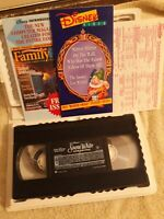 Snow White and the Seven Dwarfs VHS Walt Disney Masterpiece collection 1524
