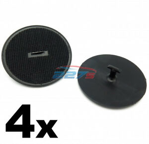 4x Floor Mat Clips for BMW and Mini Cars- Carpet Fixings 07149166609