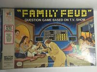 Used 1977 Milton Bradley Family Feud Board Game - Complete - Damaged Blue Box