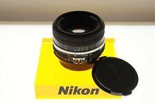 Nikon Nikkor 50mm f/1.8 Ai standard lens. EXC+ condition. Classic!
