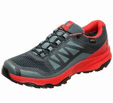 Trail Running Shoes Salomon Xa Discovery GTX, Gore-Tex, Black Red, Speedcross