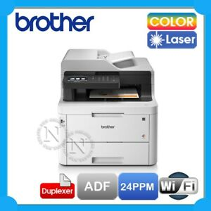 Brother MFC-L3770CDW Multifunction Wireless Color Led Laser Printer+Duplex+ADF