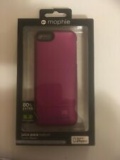 Mophie juice pack helium for Iphone 5. Purple.