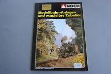 X275 NOCH Train maquette catalogue Ho N Z1980 1981 84 pg Modellbahn Deutsch