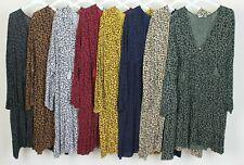 New Autumn Quirky Ladies Italian Lagenlook Animal Print Kaftan Style Tunic Top