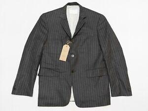 Brooks Brothers Black Fleece Thom Browne Gray Striped Sports Coat Wool BB2 40R