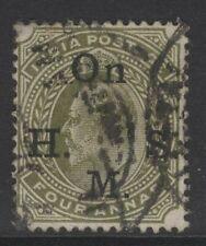 INDIA SGO60 1902 4a OLIVE USED