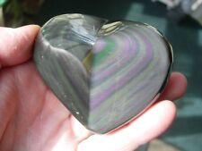 rainbow obsidian polished free form RB09