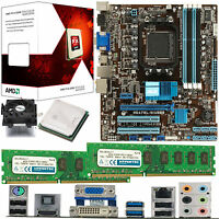 AMD X4 Core FX-4300 3.8Ghz & ASUS M5A78L-M USB3 & 8GB DDR3 1600