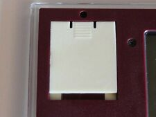 REPLACEMENT BATTERY COVER NINTENDO GAME & WATCH CRYSTAL SCREEN