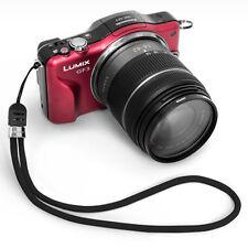 WRIST WOOL STRAP V2 (BLACK) Camera Holder for Canon Nikon Sony Olympus