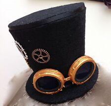 Steam punk mini chapeau haut