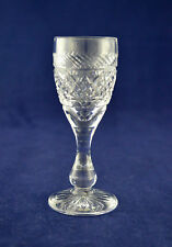 """Tudor Crystal """"HOLBEIN"""" Liqueur Glass – 10cms (4″) Tall"""