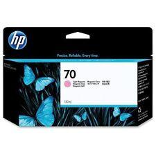 New Genuine HP 70 Ink Tank Cartridge C9455A Light Magenta 2013/14/15