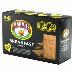 Marmite Breakfast BiscuitBox Wholegrain 252g Yeast Extract Vegan Snacks