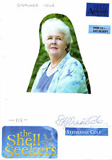STEPHANIE COLE HANDSIGNED A4 SHEET WITH  PICTURE ATTACHED