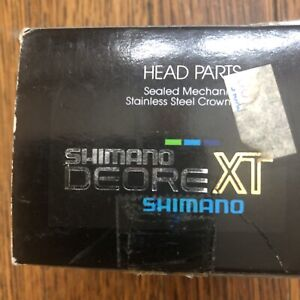 """Vintage New SHIMANO Deore XT Headset HP-M736 1 1/8"""" Threaded"""