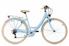 Damenfahrrad Cityrad 28 Zoll Toskana Hellblau 6-Gänge RH 48 cm KS Cycling 501C