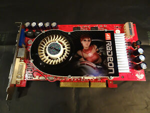 ATI Radeon X800 GTO. AGP 8x. GDDR3 256mb. Vintage Video Card.