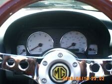 MG MGF MGTF MG TF ALUMINIUM INSTRUMENT SPEEDO REV FUEL TEMP RING SET