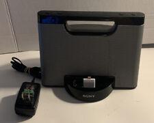 Sony Portable Speaker - RDP-M5iP Docking Station iPod iPhone 30-pin Z1