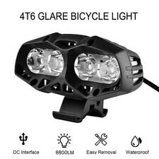 CREE XML T6 LED Front Bike Light Mountain Bicycle Cycling Headlight Rechargeable