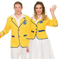 Sky High Mens Stand Out Suit Cloud Print Festival Fancy Dress Costume Outfit