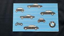 1957 english language BMW 501 502 503 507 600 Isetta Racing Prospekt Brochure
