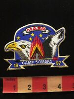 Boy Scouts Patch 1997 MASR CAMP SOMERS 85N4