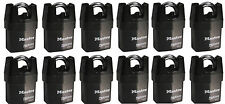 Master Lock 6321KA (Lot of 12) KEYED ALIKE Shrouded Heavy Duty High Security