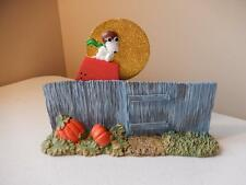 Department 56 Halloween - Snoopy Waiting for the Great Pumpkin is Coming New
