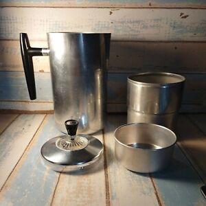 Vtg Wear-Ever #968 aluminum camp Percolator coffee pot stove top usa (PARTS)