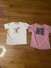 Shawn Johnson & Nastia Liukin Youth Large 14-16 Tshirts