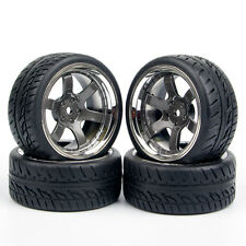 4X 1:10 RC Tires&Wheel Rim For HSP HPI on Road Drift Car PP0038 PP0150