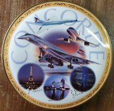 Concorde Limited Edition Collectable Plate Royal Worcester Number 3751 Mint