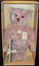STEIFF TEDDY ROSE BEAR 1927 REPLICA MOHAIR AND GROWLER 407192 LTD ED NMIB