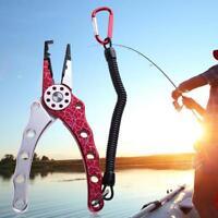 Aluminum Die Casting Fishing Pliers Scissor Hook Remover Split Ring Line Cutter