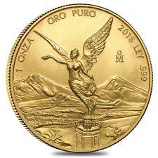 2018 1 oz Mexican Gold Libertad Coin .999 Fine BU