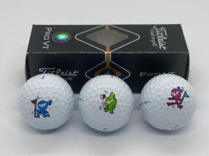 Scotty Cameron Japan M&G Wasabi Ginger & Eddie Mame Golf Balls Sleeve ProV1