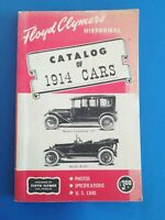Ford, Floyd Clymer's, 1914, Catalog of 1914 Cars, Book, Chevy, Olds, Mercer