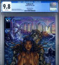 PRIMO:  FATHOM #1 Killian var NM/MT 9.8 HIGHEST CGC CENSUS M TURNER Image comics