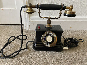 Antique AB Ericsson & Co Cradle Phone Stockholm Sweden 1895 - Has Been Converted