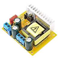 High Voltage DC-DC Boost Converter 8V-32V to +/-45V-390V Adjustable ZVS L9O9