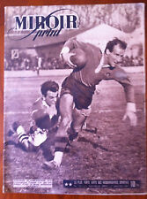 Miroir Sprint 1/7/1947; Rugby Toulouse-Ol Carcassonne/ Cerdan, Groggy met Humery