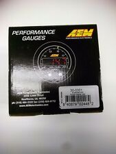 AEM X Series Oil Pressure Gauge 0-100 psi Black/Black 30-0301