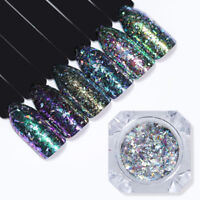 Born Pretty Chameleon Holographic Nail Art Sequin Mirror Powder Flakes Paillette