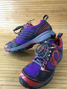 Pearl Izumi Womens W X-Road Fuel III Mountain Bike Shoes W/ Cleat Size 9US    #U