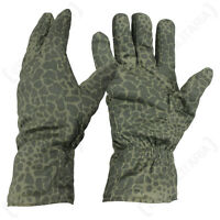ORIGINAL POLISH PUMA CAMO GLOVES - Green Military Army Insulated All Sizes